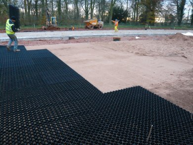 porous grass paver plastic paving grid gravel reinforcement. Black Bedroom Furniture Sets. Home Design Ideas