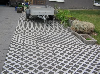 Terram Truckpave Porous Paver Ground Reinforcement
