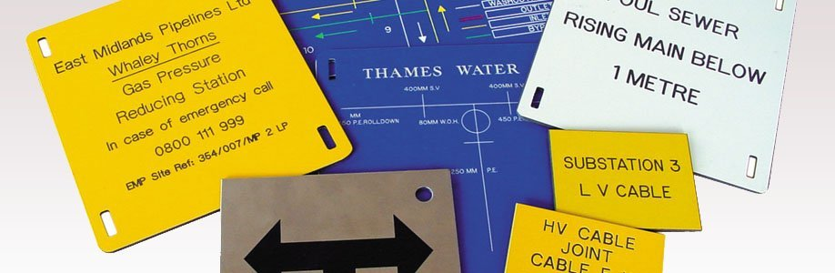 Marker Plates | Water Valves | Electrical Warning Signs | Signage
